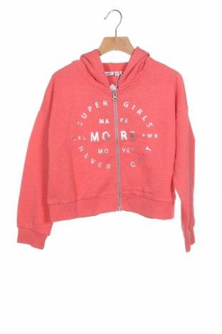 Детски суичър Name It, Размер 6-7y/ 122-128 см, Цвят Розов, 60% памук, 40% полиестер, Цена 22,05лв.