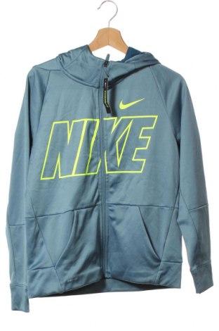 Παιδικό φούτερ Nike, Μέγεθος 15-18y/ 170-176 εκ., Χρώμα Μπλέ, Πολυεστέρας, Τιμή 38,09€