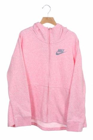 Dětská mikina  Nike, Velikost 13-14y/ 164-168 cm, Barva Růžová, 52% bavlna, 28% viskóza, 20% polyester, Cena  542,00Kč
