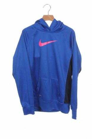 Παιδικό φούτερ Nike, Μέγεθος 12-13y/ 158-164 εκ., Χρώμα Μπλέ, Πολυεστέρας, Τιμή 11,87€