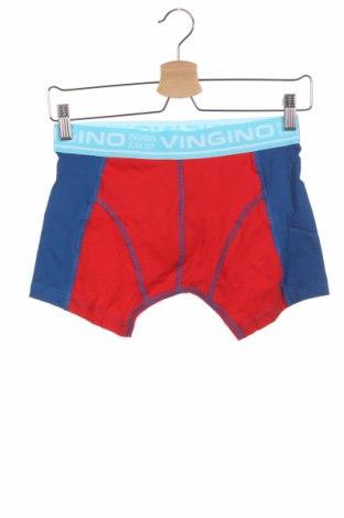 Dětské spodní prádlo Vingino, Velikost 15-18y/ 170-176 cm, Barva Červená, 95% bavlna, 5% elastan, Cena  131,00Kč