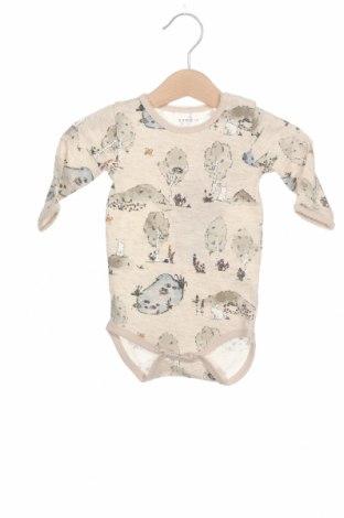 Детско боди Name It, Размер 1-2m/ 50-56 см, Цвят Многоцветен, 95% памук, 5% еластан, Цена 16,80лв.