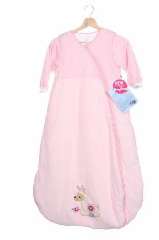 Sac de dormit pentru copii Sterntaler, Mărime 3-4y/ 104-110 cm, Culoare Roz, 75% bumbac, 25% poliester, Preț 112,57 Lei