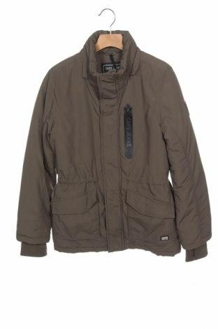 Geacă pentru copii Cars Jeans, Mărime 12-13y/ 158-164 cm, Culoare Verde, Poliamidă, Preț 137,37 Lei
