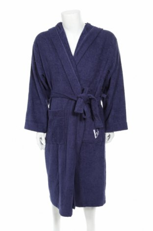 Халат за баня Bruno Banani, Размер XL, Цвят Син, Памук, Цена 61,50лв.