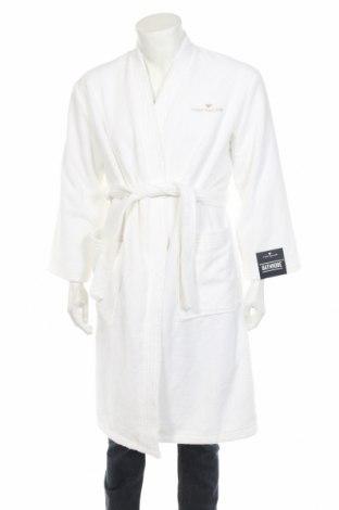 Халат за баня Tom Tailor, Размер S, Цвят Бял, 90% памук, 10% полиестер, Цена 47,84лв.