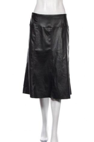 Δερμάτινη φούστα Tom Tailor, Μέγεθος M, Χρώμα Μαύρο, Δερματίνη, Τιμή 16,08€