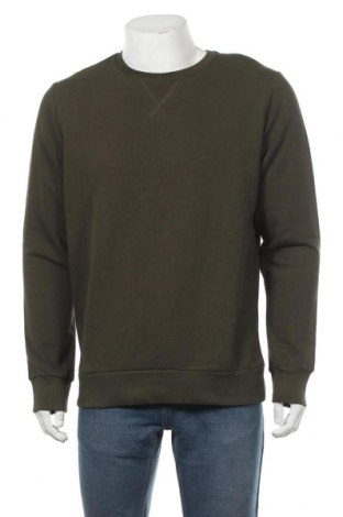 Мъжка блуза Brave Soul, Размер L, Цвят Зелен, 80% памук, 20% полиестер, Цена 24,50лв.