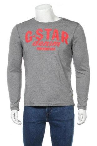 Ανδρική μπλούζα G-Star Raw, Μέγεθος M, Χρώμα Γκρί, Βαμβάκι, Τιμή 20,26€