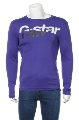 Ανδρική μπλούζα G-Star Raw, Μέγεθος L, Χρώμα Βιολετί, Βαμβάκι, Τιμή 41,05€