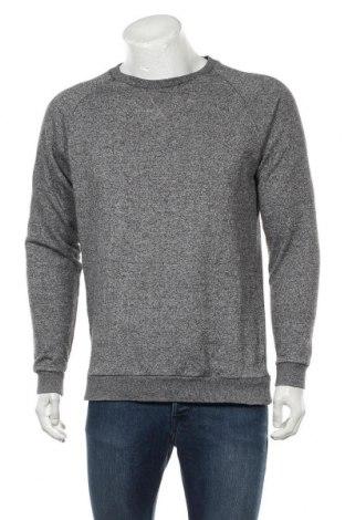 Мъжка блуза Mtwtfss Weekday, Размер M, Цвят Сив, 80% памук, 20% полиестер, Цена 17,96лв.
