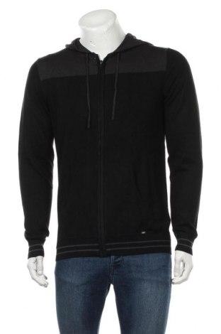 Jachetă tricotată de bărbați Liu Jo, Mărime L, Culoare Negru, 40%acril, 40% viscoză, 20% poliamidă, Preț 220,56 Lei