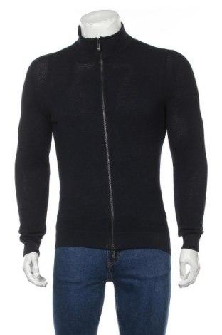Мъжка жилетка Massimo Dutti, Размер S, Цвят Син, Памук, Цена 44,50лв.