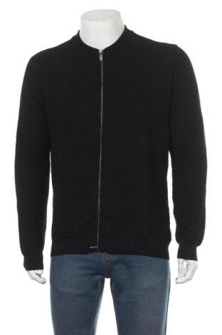 Мъжка жилетка Massimo Dutti, Размер XL, Цвят Черен, 95% памук, 5% кашмир, Цена 49,50лв.