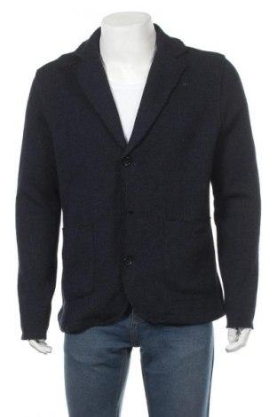 Мъжка жилетка Premium By Jack & Jones, Размер XL, Цвят Син, 60% полиестер, 25% памук, 10% други нишки, 5% акрил, Цена 35,60лв.