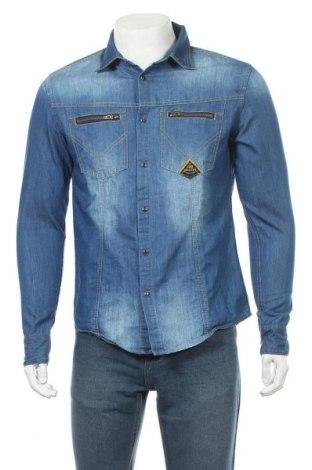 Ανδρικό πουκάμισο, Μέγεθος S, Χρώμα Μπλέ, Τιμή 8,77€
