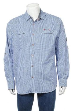 Ανδρικό πουκάμισο, Μέγεθος XXL, Χρώμα Μπλέ, Βαμβάκι, Τιμή 11,04€