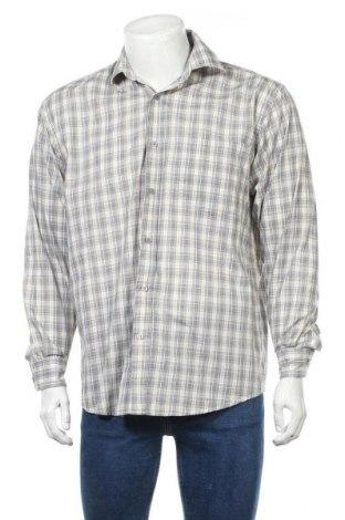 Ανδρικό πουκάμισο, Μέγεθος M, Χρώμα Πολύχρωμο, 65% πολυεστέρας, 35% βαμβάκι, Τιμή 3,86€