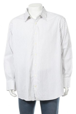 Мъжка риза Angelo Litrico, Размер XXL, Цвят Бял, Памук, Цена 5,67лв.
