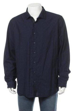 Мъжка риза Angelo Litrico, Размер XXL, Цвят Син, Цена 5,67лв.