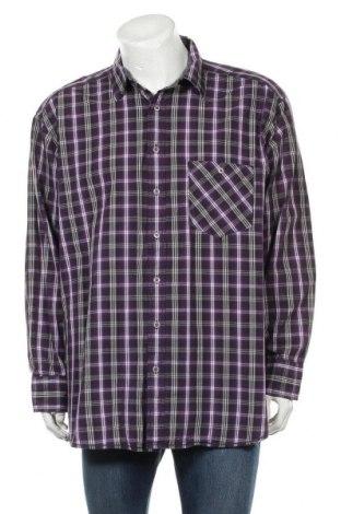 Мъжка риза Angelo Litrico, Размер XXL, Цвят Лилав, Памук, Цена 8,51лв.