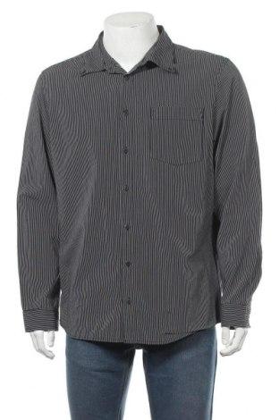 Мъжка риза Angelo Litrico, Размер XL, Цвят Черен, Памук, Цена 8,03лв.
