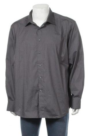 Мъжка риза Angelo Litrico, Размер XXL, Цвят Сив, Памук, Цена 8,51лв.