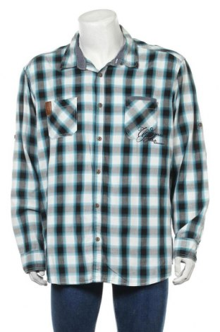 Мъжка риза Angelo Litrico, Размер 3XL, Цвят Многоцветен, Памук, Цена 8,03лв.