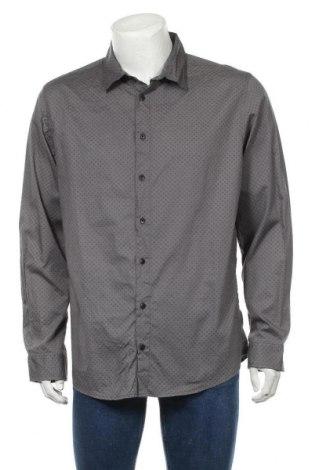 Мъжка риза Angelo Litrico, Размер XL, Цвят Сив, Памук, Цена 8,93лв.