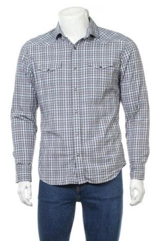 Ανδρικό πουκάμισο Banana Republic, Μέγεθος M, Χρώμα Πολύχρωμο, 96% βαμβάκι, 4% ελαστάνη, Τιμή 17,28€