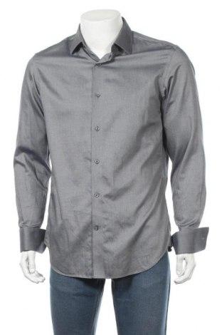 Ανδρικό πουκάμισο Banana Republic, Μέγεθος M, Χρώμα Γκρί, Τιμή 23,45€