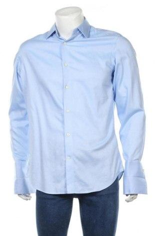 Ανδρικό πουκάμισο Banana Republic, Μέγεθος M, Χρώμα Μπλέ, Βαμβάκι, Τιμή 25,92€