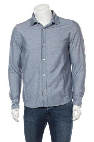 Ανδρικό πουκάμισο Banana Republic, Μέγεθος M, Χρώμα Μπλέ, 51% βαμβάκι, 49% πολυεστέρας, Τιμή 15,20€