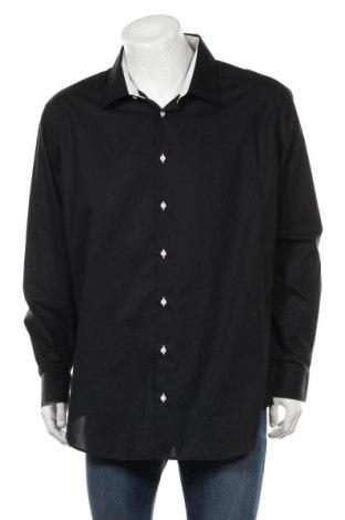 Ανδρικό πουκάμισο Bruno Banani, Μέγεθος 3XL, Χρώμα Μαύρο, Βαμβάκι, Τιμή 10,97€
