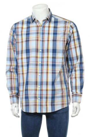 Ανδρικό πουκάμισο Casa Moda, Μέγεθος L, Χρώμα Πολύχρωμο, Βαμβάκι, Τιμή 11,04€