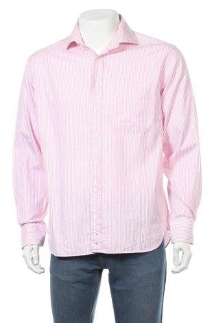Мъжка риза Christian Berg, Размер L, Цвят Розов, Памук, Цена 15,02лв.