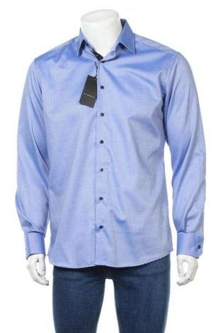 Мъжка риза Eterna, Размер M, Цвят Син, Памук, Цена 33,97лв.