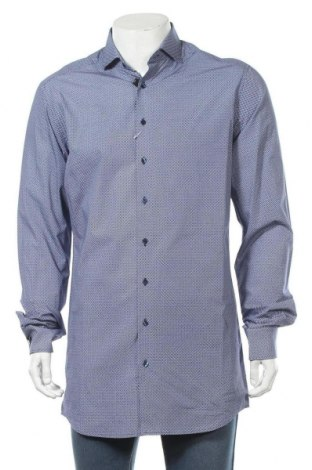 Мъжка риза Eterna, Размер M, Цвят Многоцветен, Памук, Цена 27,90лв.