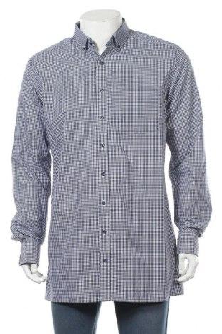 Мъжка риза Eterna, Размер L, Цвят Син, Памук, Цена 27,90лв.