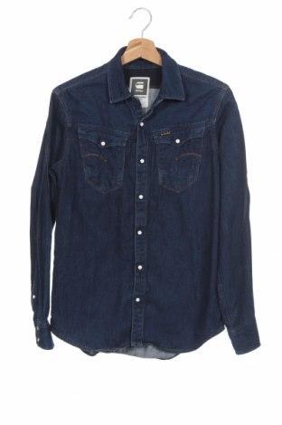 Ανδρικό πουκάμισο G-Star Raw, Μέγεθος M, Χρώμα Μπλέ, Βαμβάκι, Τιμή 25,46€