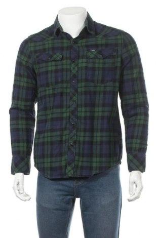 Ανδρικό πουκάμισο G-Star Raw, Μέγεθος M, Χρώμα Πράσινο, Βαμβάκι, Τιμή 21,82€