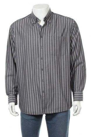 Ανδρικό πουκάμισο Gilberto, Μέγεθος XL, Χρώμα Γκρί, Τιμή 12,34€