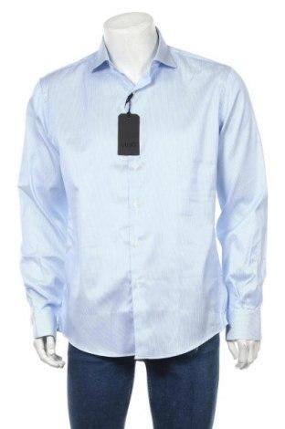 Cămașă de bărbați Liu Jo, Mărime XL, Culoare Albastru, 98% bumbac, 2% elastan, Preț 195,73 Lei