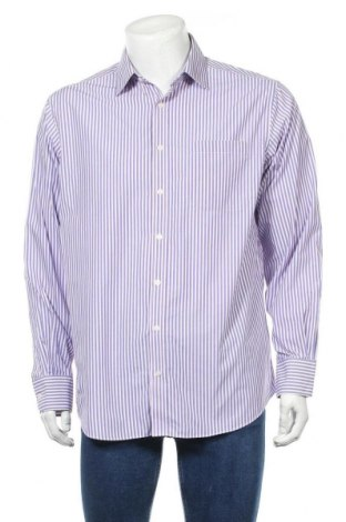 Ανδρικό πουκάμισο Marks & Spencer, Μέγεθος L, Χρώμα Πολύχρωμο, 55% βαμβάκι, 45% πολυεστέρας, Τιμή 11,69€