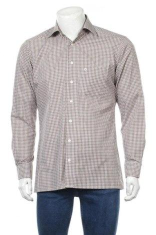 Ανδρικό πουκάμισο Olymp, Μέγεθος M, Χρώμα Καφέ, Βαμβάκι, Τιμή 11,69€