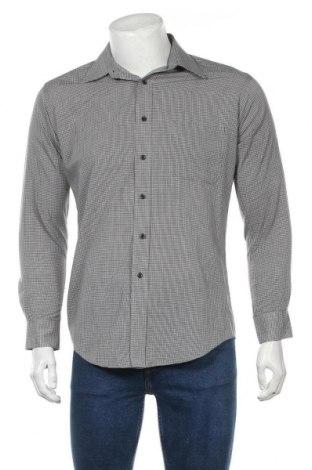 Мъжка риза Pierre Cardin, Размер M, Цвят Сив, 65% полиестер, 35% памук, Цена 15,25лв.
