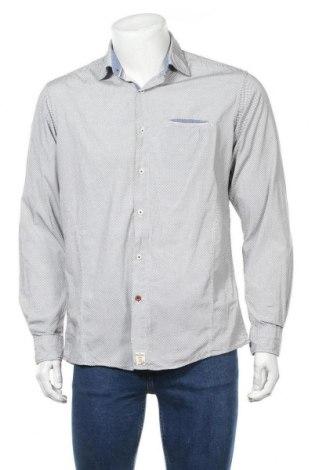 Мъжка риза Pierre Cardin, Размер M, Цвят Бял, Памук, Цена 29,40лв.