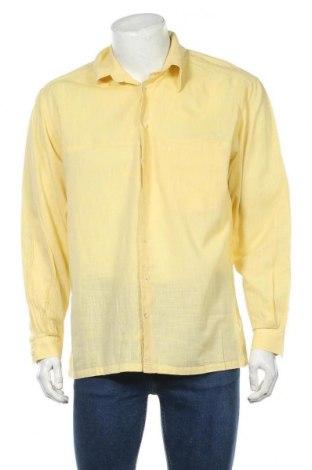 Мъжка риза Pierre Cardin, Размер L, Цвят Жълт, Памук, Цена 37,49лв.