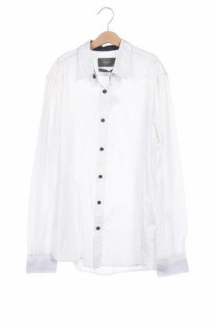 Ανδρικό πουκάμισο Reserved, Μέγεθος M, Χρώμα Λευκό, 55% βαμβάκι, 45% πολυεστέρας, Τιμή 11,69€