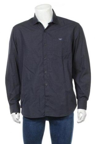 Ανδρικό πουκάμισο S.Oliver, Μέγεθος XL, Χρώμα Μπλέ, Βαμβάκι, Τιμή 11,69€